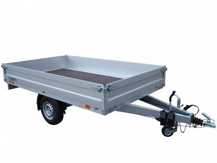 přívěsný vozík valník Alu bočnice