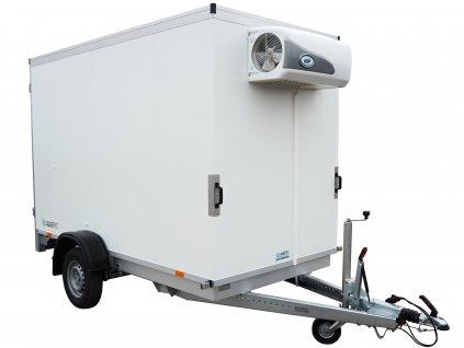 chladírenský přívěsný vozík s chladící jednotkou alaspro