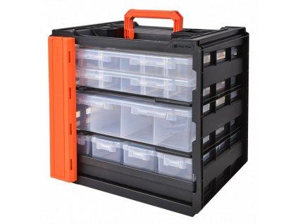 Přenosný box s organizéry 394 x 404 x 307 mm