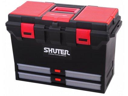 Box / Kufr na nářadí s 2 výplněmi - TB-802