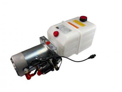 Elektrohydraulické čerpadlo 12V, AUER, 180bar, s nádrží 7l pro přívěsy Agados
