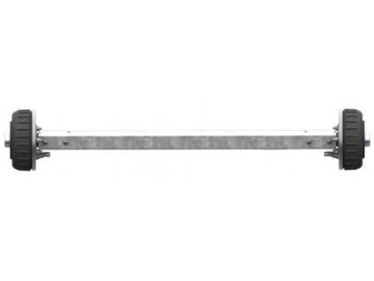 Náprava AL-KO Starr Plus BS (1800kg) a=1550 mm, 112x5