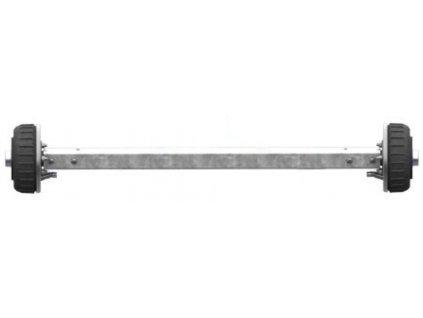 Náprava AL-KO Starr Plus BS (1800kg) a=1650 mm, 112x5