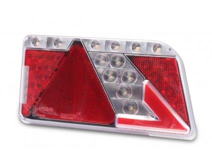 Svítilna sdružená 26094, 12-24V, P-BL/BR/KO/ML/CO, baj6 dynamický blinkr