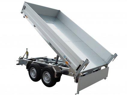 třístranný sklápěcí přívěsný vozík 3500 kg