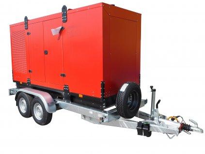 přepravník přívěsný vozík pro agregát