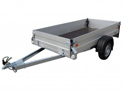 hliníkový přívěsný vozík