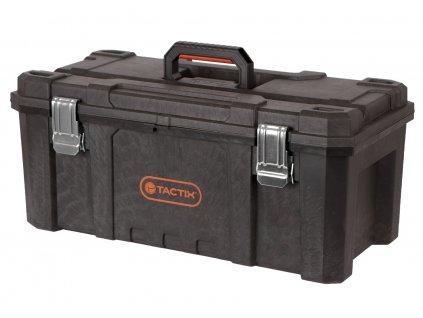 Plastový vodotěsný kufr na nářadí, 535 x 288 x 254 mm