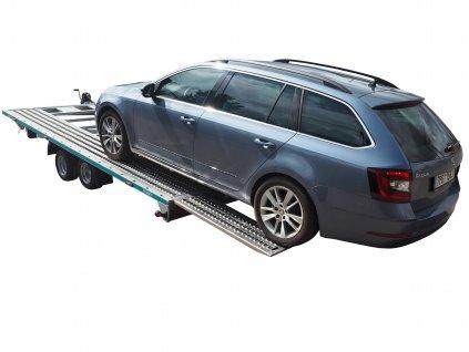 přívěsný vozík pro přepravu automobilů