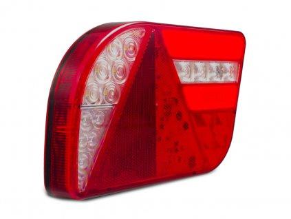 Svítilna Lucidity GloTrac sdružená LED 12-24V, P-BL/BR/KO/CO/ML, baj6