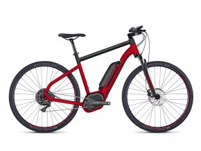 HYB Square Cross B4.9 RED / BLACK