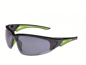 CRUSH Black neon green glossy