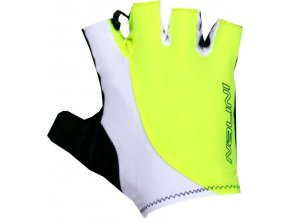 RUKAVICE LOGO GLOVES SUMMER GLOVES BIANCO/GIALLO FLUO