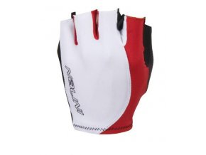 RUKAVICE LOGO GLOVES SUMMER GLOVES BCO /ROSSO