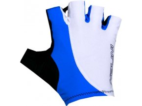 RUKAVICE LOGO GLOVES SUMMER GLOVES BIANCO/AZZ.ITALIA