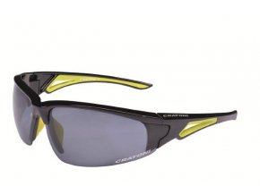 CRUSH Black neon yellow glossy