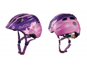 Cratoni Akino STAR purple-pink glossy