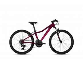"""Lanao 24"""" Base - Blackberry / Electric Pink"""