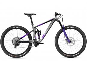 Riot Enduro Full Party - Silver / Electric Purple