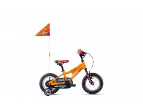 POWERKID 12 ORANGE / RED / BLACK