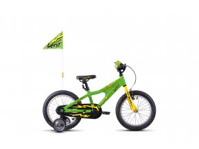 POWERKID 16 GREEN / YELLOW / BLACK