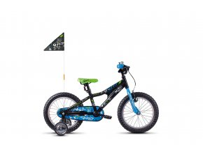 POWERKID 16 BLACK / BLUE / WHITE