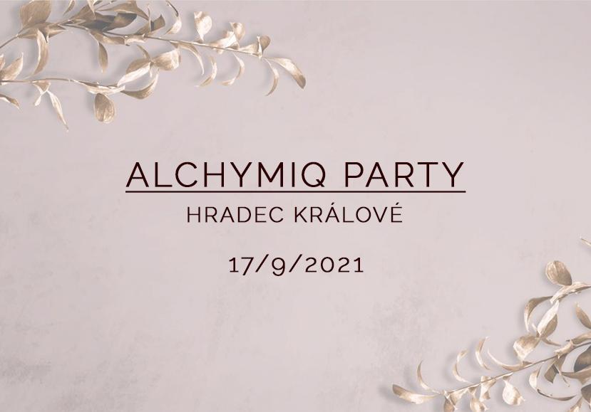 AlchymiQ party v Hradci Králové