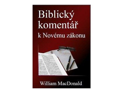 kniha biblicky komentar k novemu zakonu