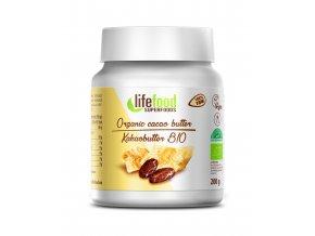 Bio Kakaové máslo nepražené 200g