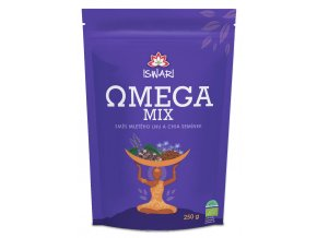 Bio Omega Mix (směs mletých semínek chia, hnědý len) 250g
