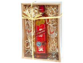 Medovina 500ml+2skleničky dárkové balení