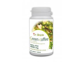 Green coffee 60 tablet - extra silné 4000mg