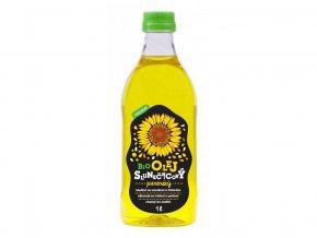 Bio slunečnicový olej panenský 1l