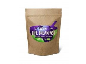 Bio Life breakfast Granola borůvka s chia semínky 220g