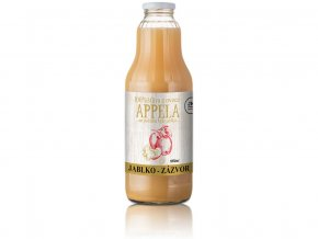 Jablko - zázvor 1l - 100% přírodní šťáva