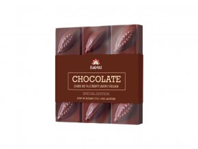 Bio čokoláda Dark Intense Xylitol Crispy 75g