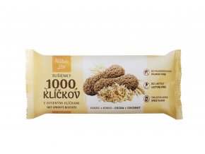 Sušenky 1000 klíčků s ovesnými klíčky 90g