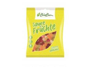 Bio gumové bonbony Kyselé ovoce 100g