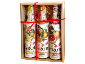 Syrob Citrus (Grep,Citron, Pomeranč) 3x500ml