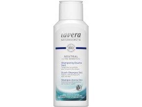 Lavera Neutral ultra sensitive Sprchový šampon na tělo a vlasy 2v1 200ml