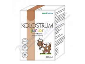 Edenpharma Kolostrum junior  (tbl 30)