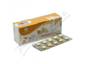 G VITAMIN C 100MG (TBL 40)