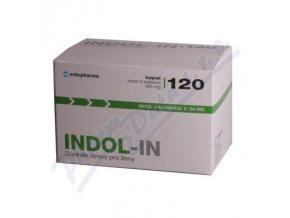 INDOL-IN cps.120 (cysty HPV myomy bolest prsou) ()