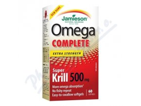JAMIESON Omega Complete Super Krill 500mg  (cps 60)