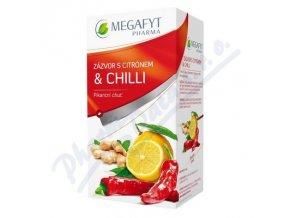 MEGAFYT CAJ ZAZVOR+CITRON+CHILLY (20X2G)