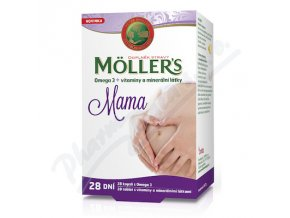 Mollers Mama Omega3 + vitam.a miner. (cps28+tbl28)