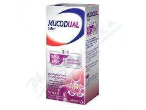 Mucodual sirup (2,5/100ml )