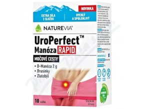 Swiss NatureVia UroPerfect Manóza Rapid (10 sáčků)