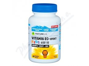 Swiss Vitamin D3-Efekt Kids (tbl 60)