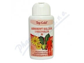 TOP GOLD ARNIKOVÝ BALZÁM S KOSTIVALEM (200ML)